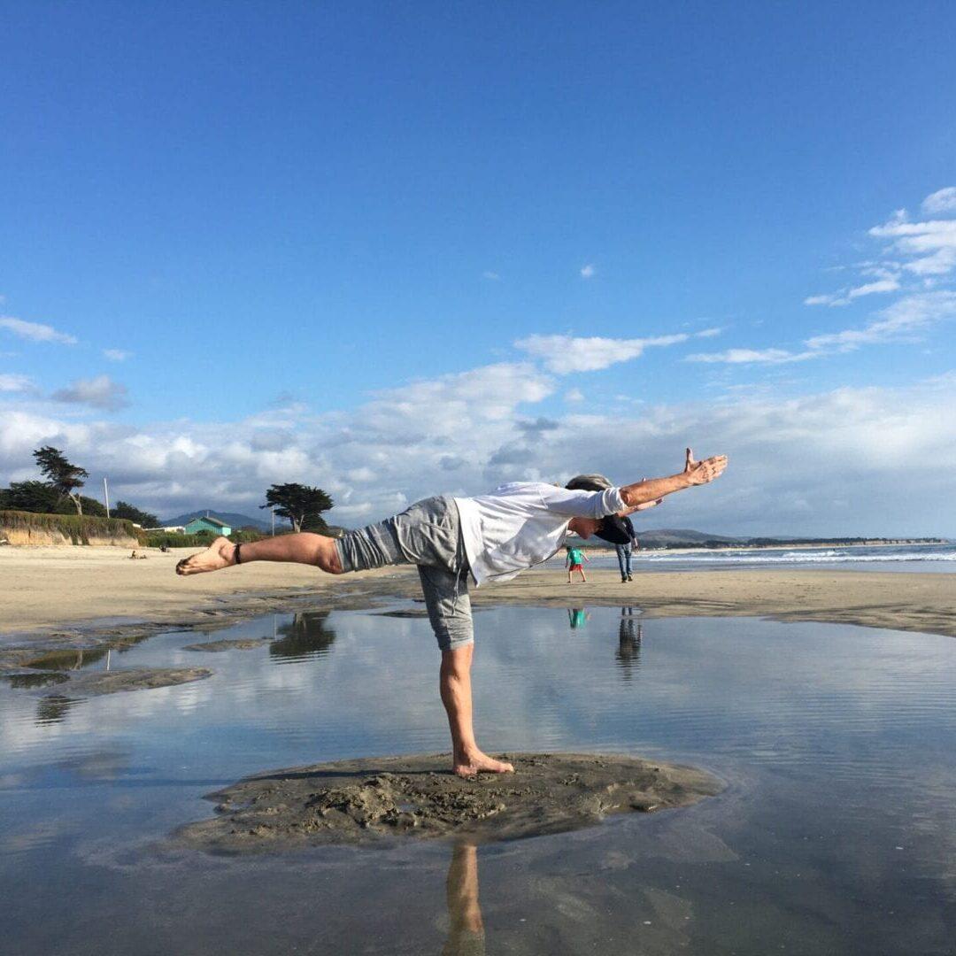 cantaleaver on beach